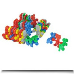 45 In 1 Assorted Color Plastic Mental