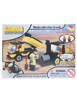 Construction Toys Dump Truck And Tractor